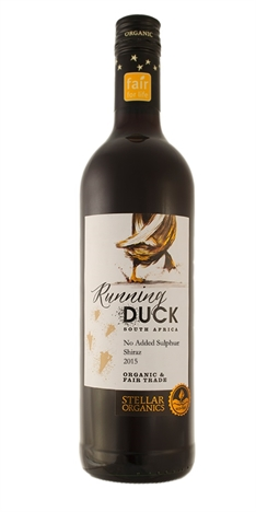 Running Duck No Added Sulphur Shiraz